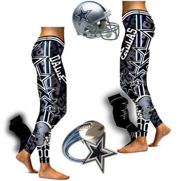 9fda036675 NFL Pants   Dallas Cowboys Workout Leggings   Poshmark